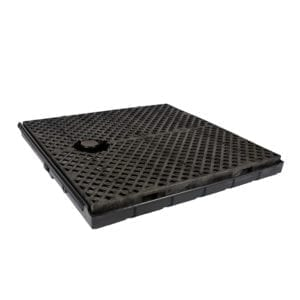 "ULTRA-TRACK CENTER PAN WITH GRATE 4'-6'"" LONG"