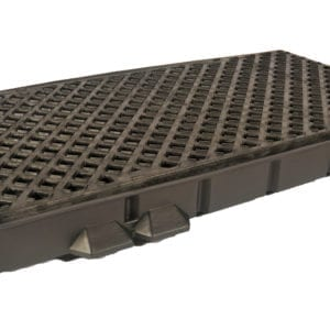 "ULTRA-TRACK SIDE PAN WITH GRATE 4'-6"" LONG"