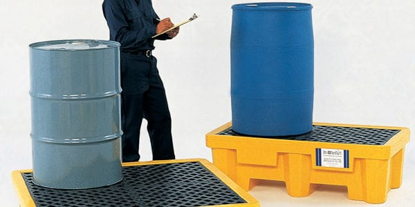 IBC drum spill containment