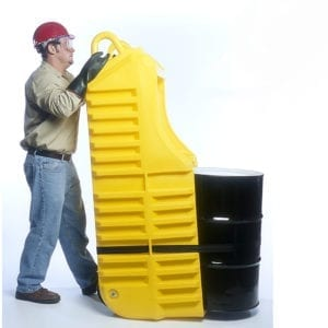 ULTRA-SPILL DRUM TRUCK - YELLOW