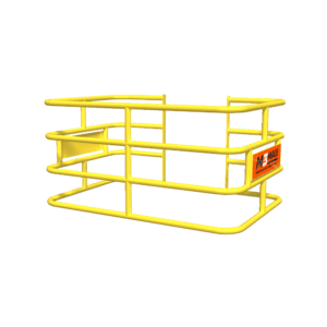 MAUI-CAGE-4X6-4R-24-POWDER-COAT-YELLOW-ZERO-BUMPOUT