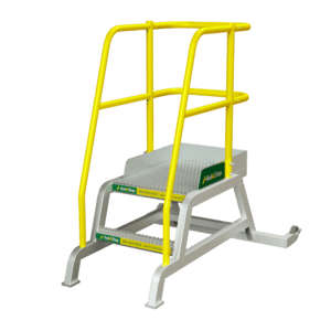 RollAStep-TR-Series-Mobile-Process-Workstand-TiltNRoll-24-2-step
