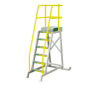 RollAStep-TR-Series-Mobile-Process-Workstand-TiltNRoll-72-6-step
